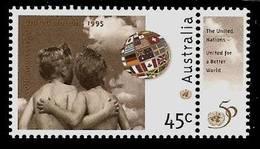 AUSTRALIA 1995 - UNITED NATIONS 50 Years - 1v TAB Mi 1477 MNH ** K432 - Ungebraucht