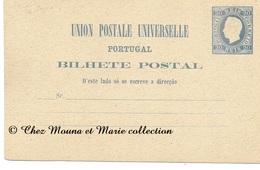 PORTUGAL 20 REIS - ENTIER POSTAL - Entiers Postaux