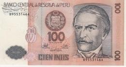 (B0695) PERU, 1987. 100 Intis. P-133. UNC - Pérou