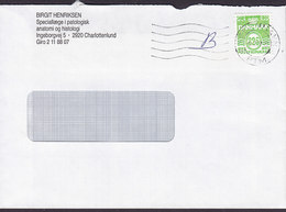 Denmark B-Economique BIRGIT HENRIKSEN Special Doctor Ingeborgvej CHARLOTTENLUND 1992 Cover Brief - Briefe U. Dokumente