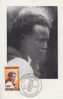 Carte  Maximum  1er   Jour   MADAGASCAR     Jean  Joseph  RABEARIVELO   1965 - Madagascar (1960-...)