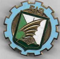 519e Bataillon De Marche Du Train - Insigne émaillé Drago Paris - Armée De Terre