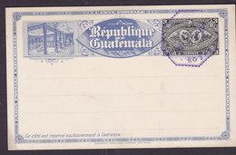 Guatemala UPU Postal Stationery Ganzsache Entier 3 Centavos 1897 - Guatemala