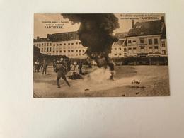Antwerpen  Brandbegin Uitgedoofd In Antwerpen Met Een Apparaat Antifyre  BRANDWEER POMPIERS - Antwerpen