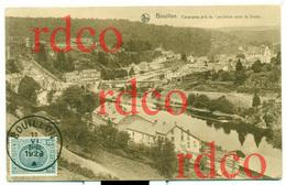 BELGIQUE LUXEMBOURG BOUILLON, Panorama Pris L'ancienne Route De Sedan; Belgium - Bouillon
