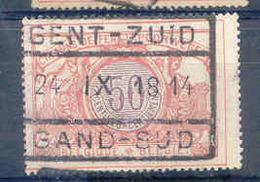A717  Belgie Spoorwegen Chemin De Fer  Stempel  GENT ZUID  GAND SUB - 1895-1913