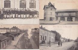 100 CPA TOUTE FRANCE  LOT MB - Postcards