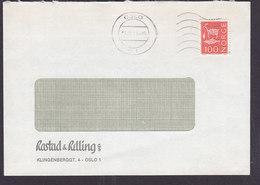 Norway RASTED & RELLING Klingenberggt. OSLO 1973 Cover Brief - Norwegen
