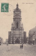 CPA Lens, Eglise Saint Leger (pk46634) - Lens