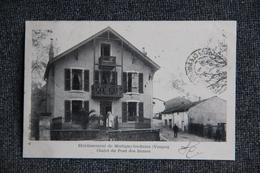 MARTIGNY LES BAINS - Etablissement, Châlet Du Pont Des Dames - Autres Communes