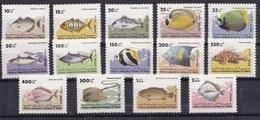 South Yemen 1984 MNH - Fische