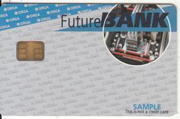 FRANCE - Future Bank, ORGA Sample Card - Geldkarten (Ablauf Min. 10 Jahre)