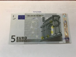 Italy Uncirculated Banknote 5 Euro 2002 - Unclassified