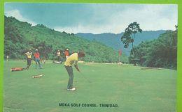 MOKA Golf Course At Haleland Park. The Scenic 18 Hole - Maraval - Trinidad - Trinidad