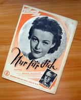 Sheet Music Germany Nur Für Dich 1942 - Vocals