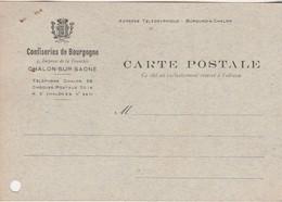 Carte Postale Commerciale 1942 / Confiseries De Bourgogne / Impasse De La Tranchée / 71 Chalon Sur Saône - Maps