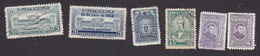 Guatemala, Scott #309, 311, 313-314, 314, UsedMint Hinged, Palace, Torch, Vidaurre, Rivera, Issued 1944-45 - Guatemala
