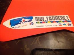 Autocollant T Moi J Adhérer Skis - Stickers
