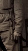 P 403 Y1  - Photo Soldat Autrichien Avec Baïonnette ERSATZ - Armes Blanches