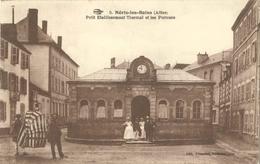 Cp NERIS LES BAINS (Allier) 03 - Petit Etablissement Thermal Et Les Porteurs - Edit. Picandet - Neris Les Bains