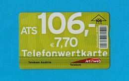 Télécarte AUTRICHIENNE VIDE - Autriche