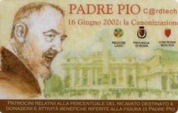 *ITALIA - PADRE PIO* - C@rdtech NUOVA (MINT) - Italy
