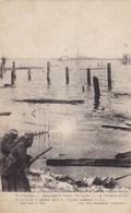 Ramskapelle, Rmscapelle Onder Water WW1 1914 - 1918 (pk46650) - Nieuwpoort