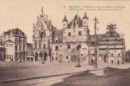 Mechelen, Stadhuis Marktplaats En Museum  (pk46653) - Malines