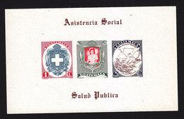 Guatemala, Scott #337a, Mint Never Hinged, Social Assistance, Nurse, Hospital Map, Issued 1950 - Guatemala