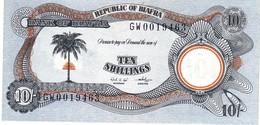Biafra P.4 10 Shilling 1968  Unc - Banconote