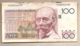 Belgio - Banconota Circolata Da 100 Franchi P-140a.1 - 1978 - [ 2] 1831-... : Regno Del Belgio