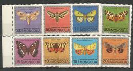 MONGOLIA - MNH - Insects - Butterflies - Schmetterlinge