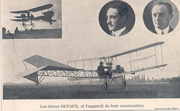 Aviation - Aviateurs Dufaux- Meeting De Viry-Genève - Aviateurs