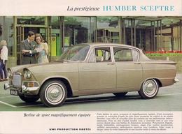 HUMBER SCEPTRE (ROOTES) - PROSPECTUS. - Publicités