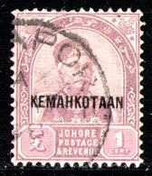 JOHORE 1896 - From Set Used - Johore