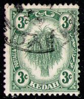 KEDAH 1926 - From Set Used - Kedah