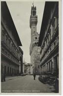 CPSM ITALIE ( Europe ) - FIRENZE - UFFIZI E PALAZZO VECCHIO - Firenze