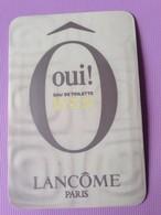 O OUI ! LANCOME Liquatouch - Perfume Cards