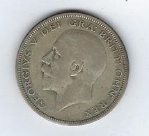 Grande Bretagne Georges V 1935 Half Crown - 1902-1971 : Post-Victorian Coins