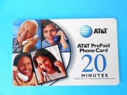 PEOPLES ...... USA - AT&T Prepaid Phone Card - 20. Minutes * United States - United States
