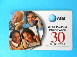 PEOPLES ...... USA - AT&T Prepaid Phone Card - 30. Minutes * United States - United States