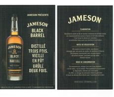 CARTE WHISKY JAMESON BLACK BARREL - Whisky