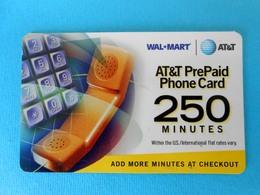 Telephone - 250. Minutes ...... USA - AT&T Prepaid Phone Card  * United States - United States