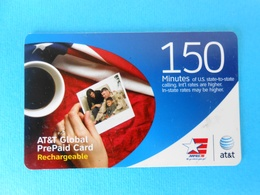 Peoples - 150. Minutes ...... USA - AT&T Prepaid Phone Card  * United States - United States