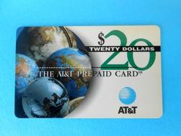 20. DOLLARS  ...... USA - AT&T Prepaid Phone Card  * United States - United States