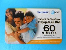 60. MINUTOS  ...... USA - AT&T Prepaid Phone Card  * United States - United States
