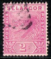 SELANGOR 1891 - From Set Used - Selangor