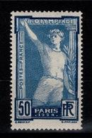 YV 186 N* JO De PAris 1924 Cote 32 Euros - France