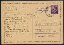 B. & Mähren Ganzsache P15 I KZ-Post Internierugslager Swatoborschitz Svatobořice - Briefmarken
