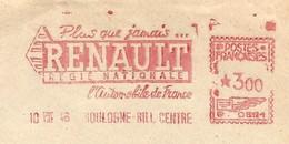 EMA HAVAS Type G De 1946 Avec Publicité Plus Que Jamais ... RENAULT Régie Nationale L'automobile De France (cf Descrip.) - Auto's